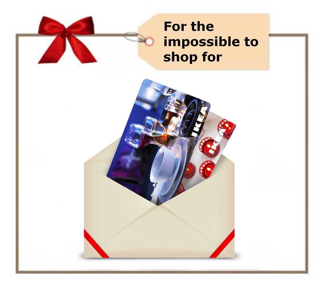 Get the perfect gift (card) at your local IKEA store! | Ikea Gift ...
