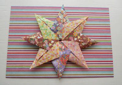: Tutorial: 8 Point Origami Star