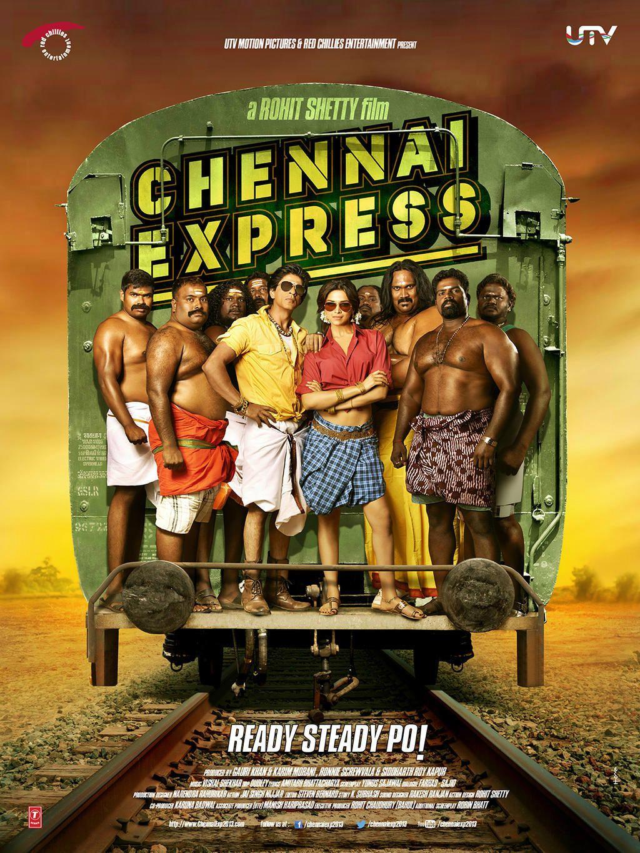 Chennai Express, starring Shahrukh Khan and Deepika ...