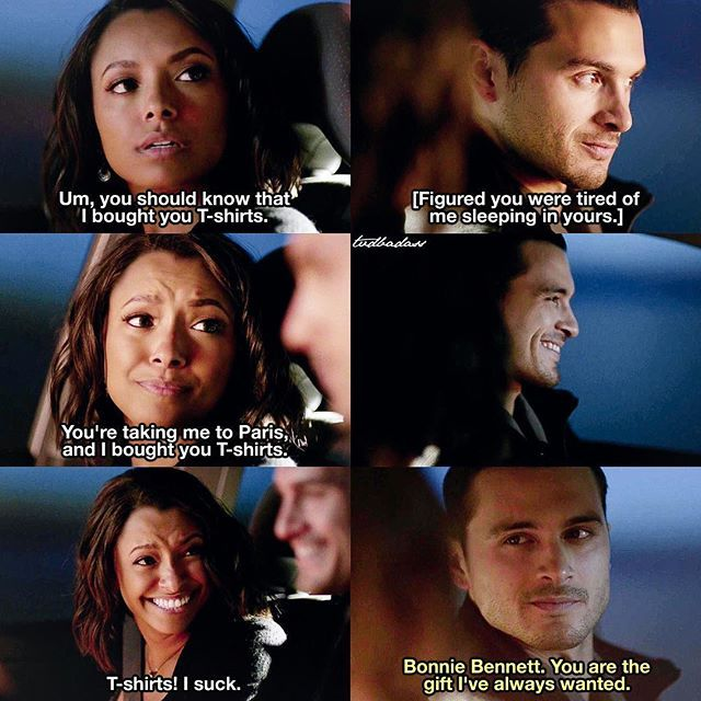 [8x07 - The Next Time I Hurt Someone, It Could Be You] They are so adorable  Also, I love how romantic Enzo actually is  ⠀ Q: Bonnie or Enzo? ⠀ My edit give credit [#bonenzo#bonniebennett#enzo#enzostjohn#tvd#thevampirediaries#vampirediaries#tvdforever|137.8k]
