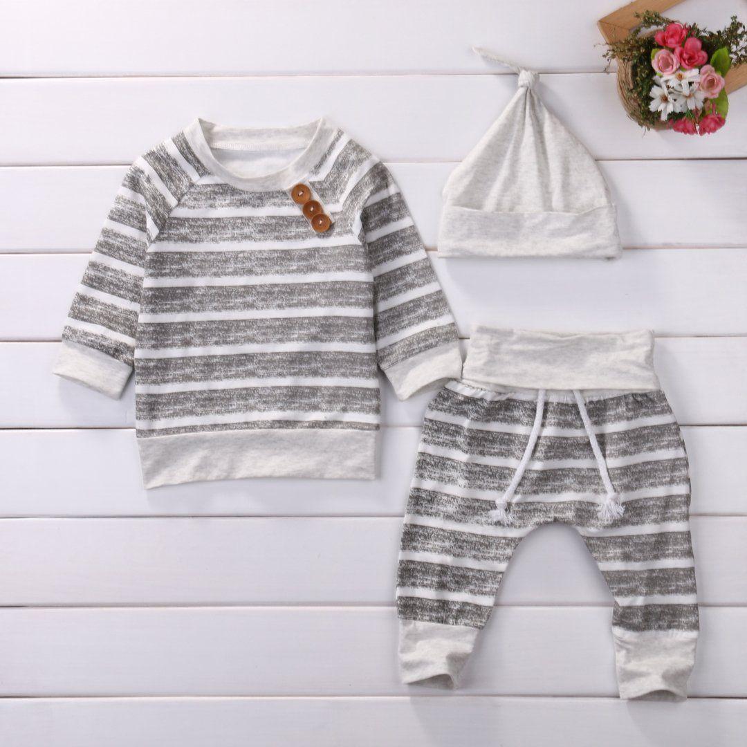 3963bdcb562b Baby Clothing Sets 2017 Autumn Newborn Boys Girls Clothes Infant ...