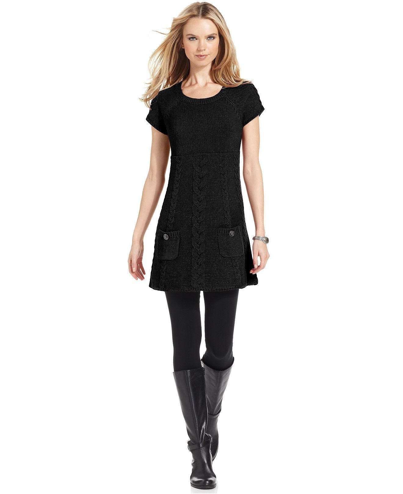 Style & Co Sweater Dress | Macy's | • STYLE | Clothes ...