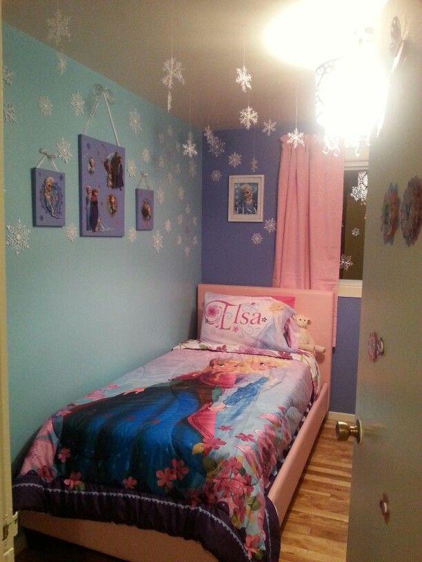 Frozen My Frozen Theme Bedroom Frozen Room Frozen