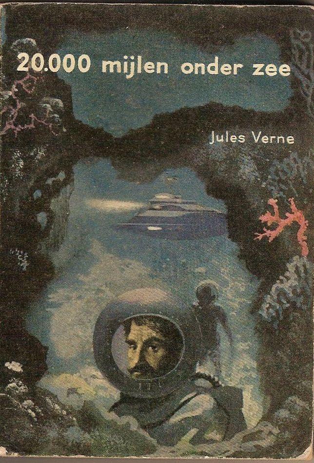 Jules Verne 20000 Mijlen Onder Zee 1956 Jules Verne Books