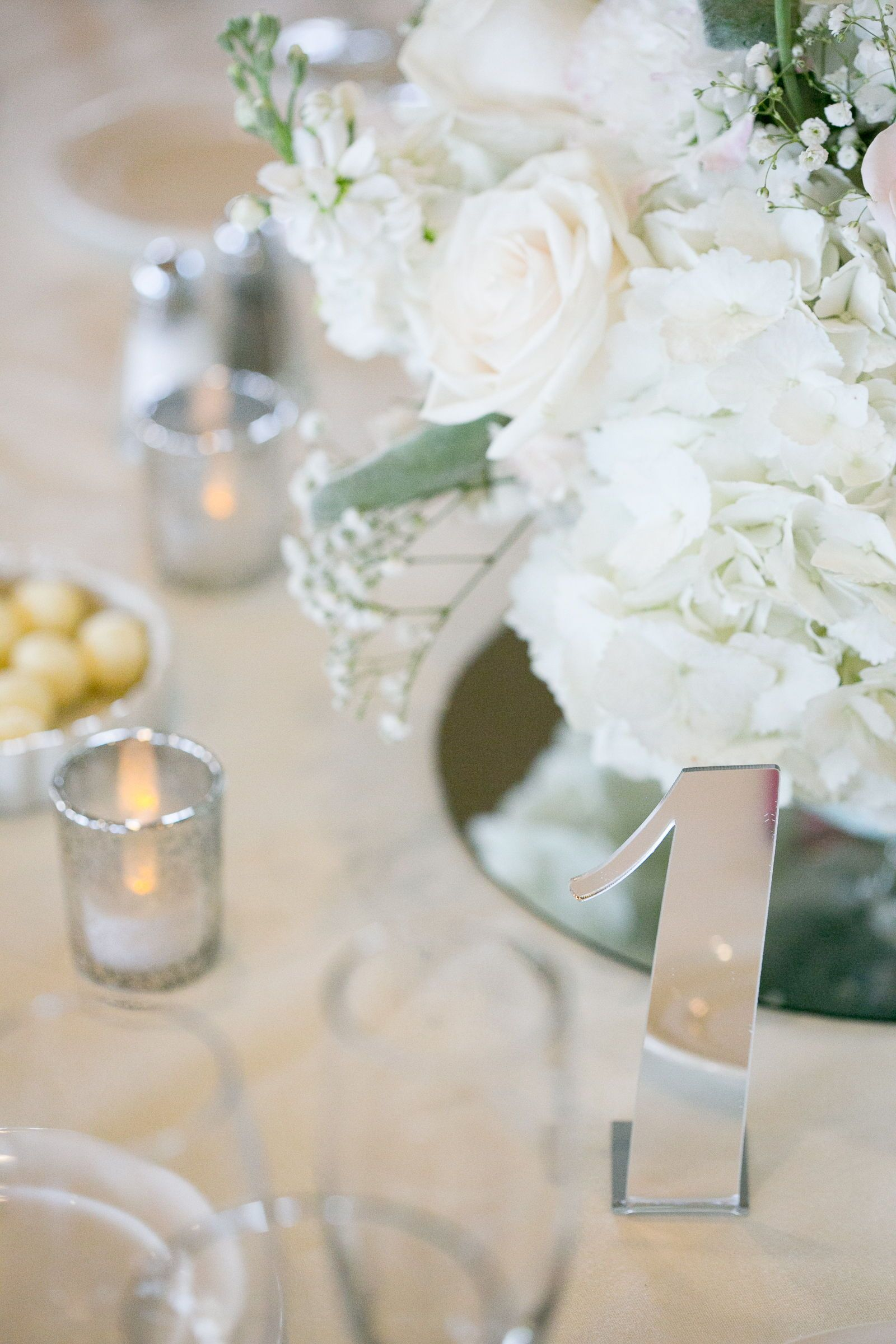 Acrylic Table Numbers For Weddings And Events Standing Numbers