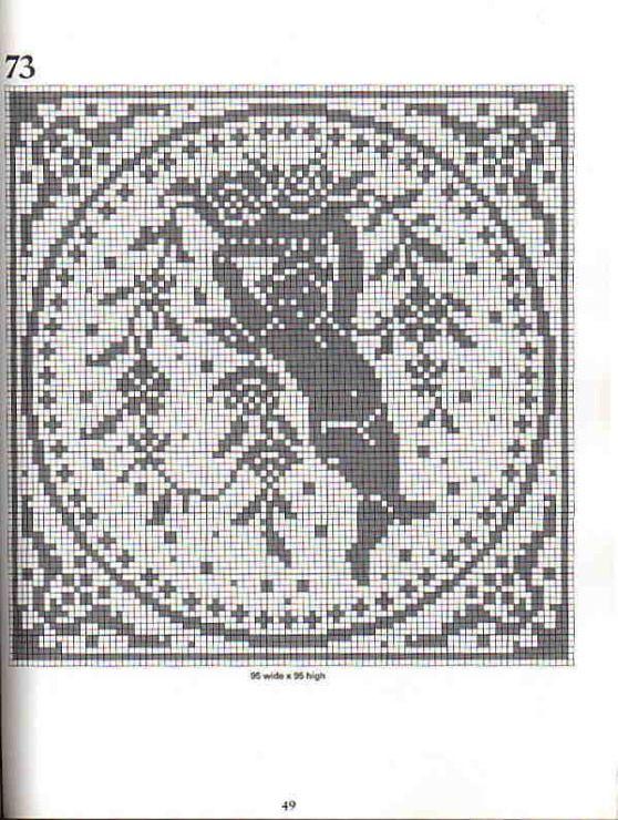 Gallery.ru / Foto n º 48 - Filet Crochet convertidor Punto de Cruz 1 ...