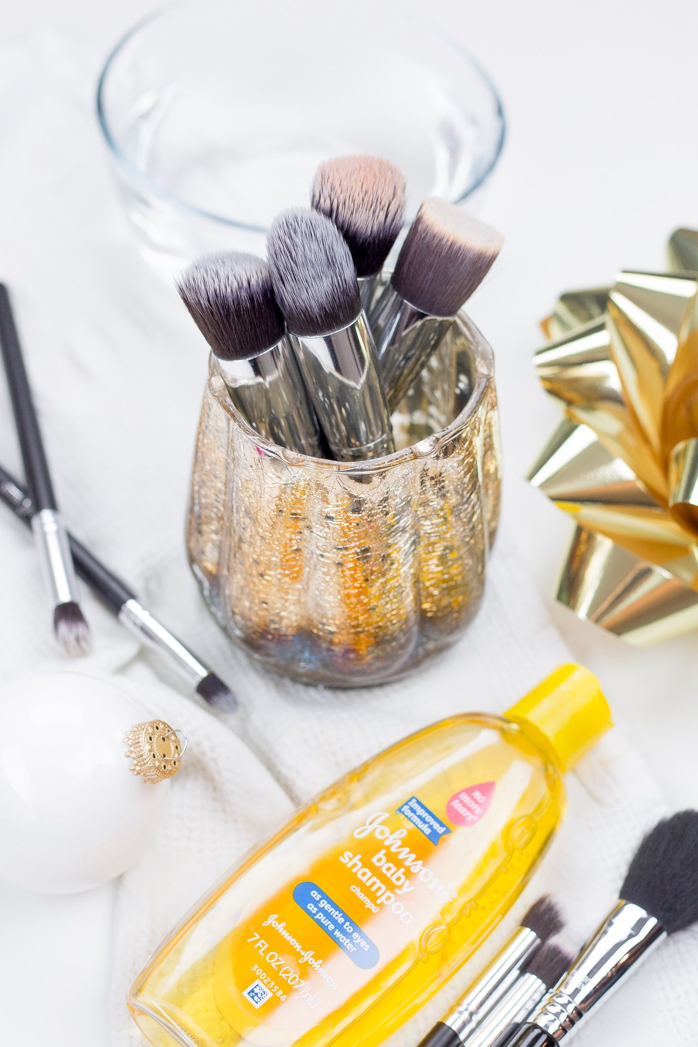 How To Clean Makeup Brushes With Baby Shampoo https//www