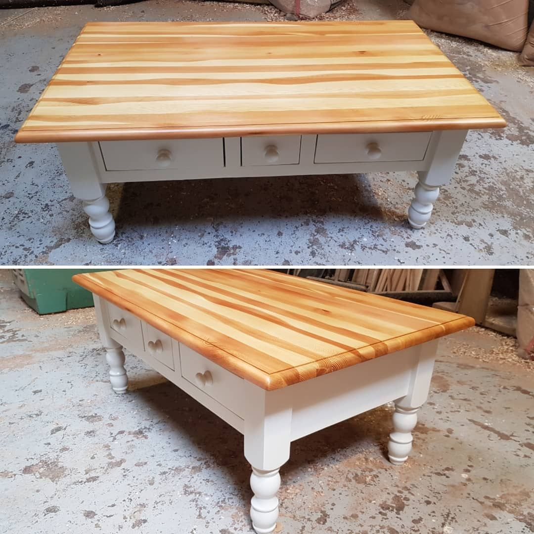 Just Finished This Large Pine Coffee Table Sanded The Top Back Which Has Bought Out The Natural Colour Recycled Furniture Pine Coffee Table Upcycled Furniture [ 1080 x 1080 Pixel ]