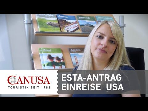 Video: ESTA-Antrag für die Einreise in die USA   traveLink.