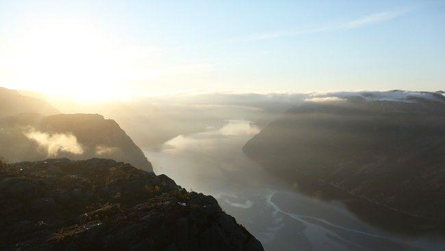 Foto: Anders Fehn / NRK, Prekestolen, Norway