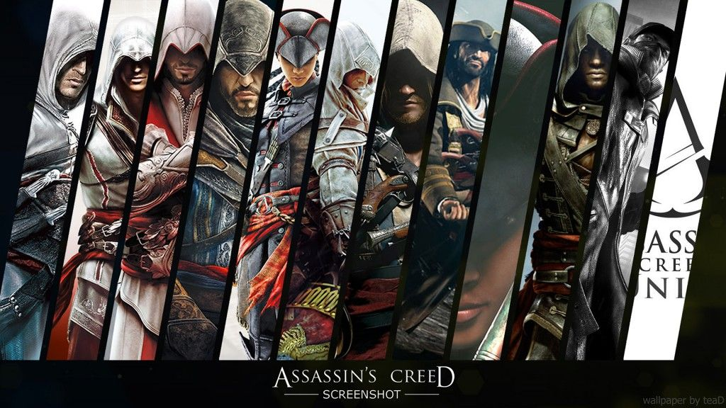 Download Assassin S Creed Unity 2014 Wide Wallpapers Assassin S