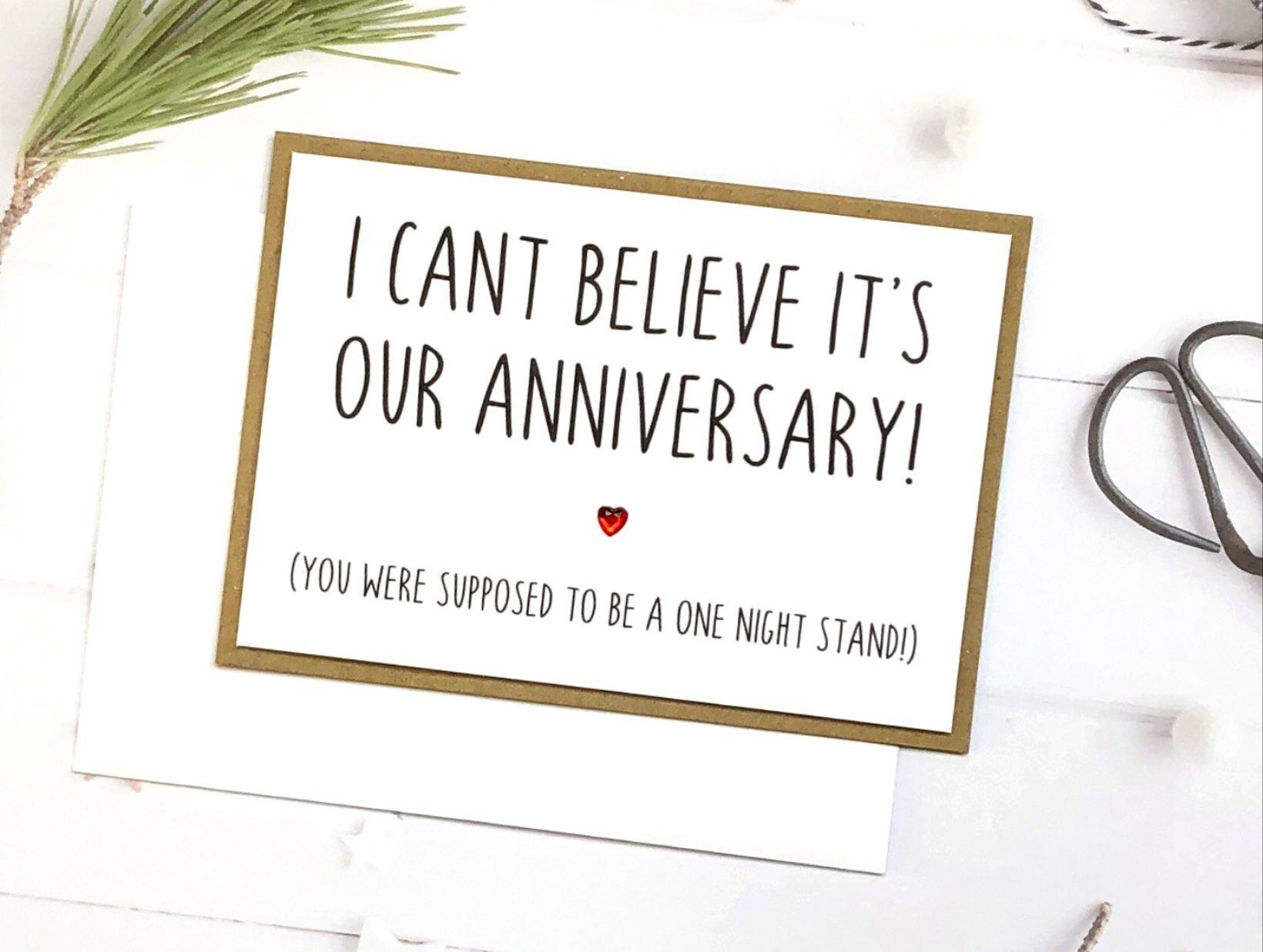 Funny Anniversary Card Anniversary Card For Boyfriend Etsy Funny Anniversary Cards Cards For Boyfriend Anniversary Cards For Boyfriend