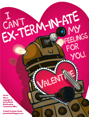 Dalek Valentines | Post a picture, entertain me! | Gamers With Jobs