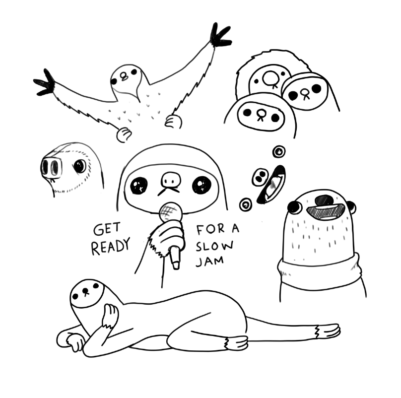 Sloths. I seriously have a weird love/obsession with them   Sloths ...