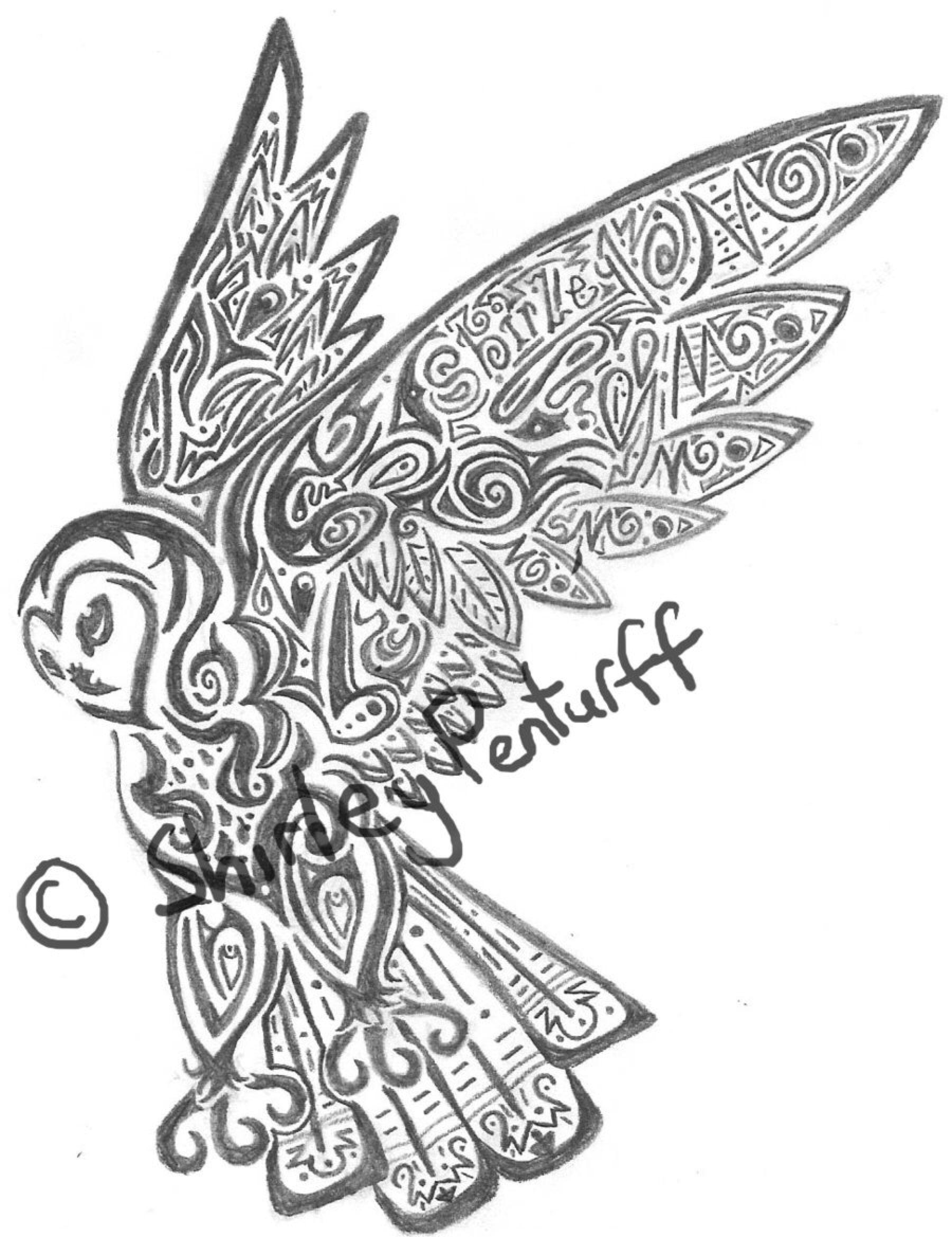 Tribal Owl By Crimsonbluewolf On Deviantart Con Imagenes