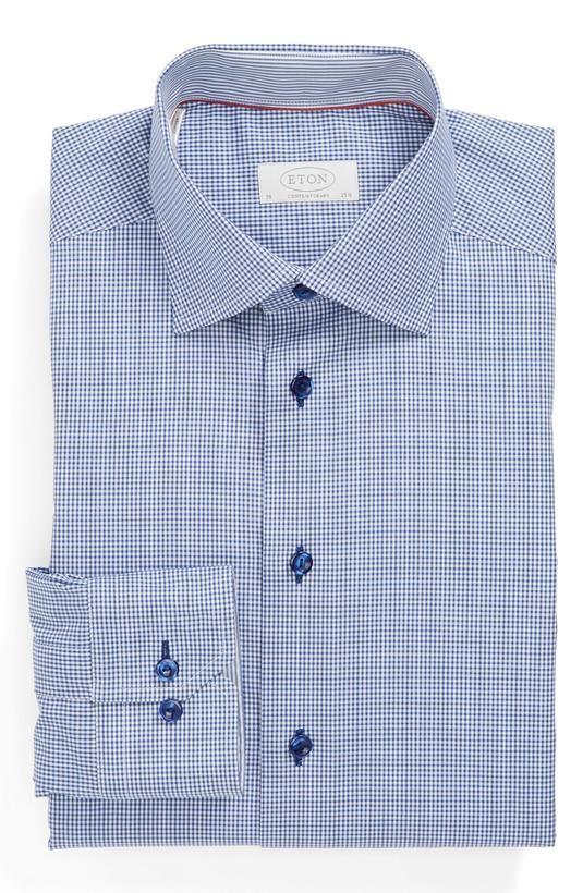 Eton   Contemporary Fit Dress Shirt #eton #shirt