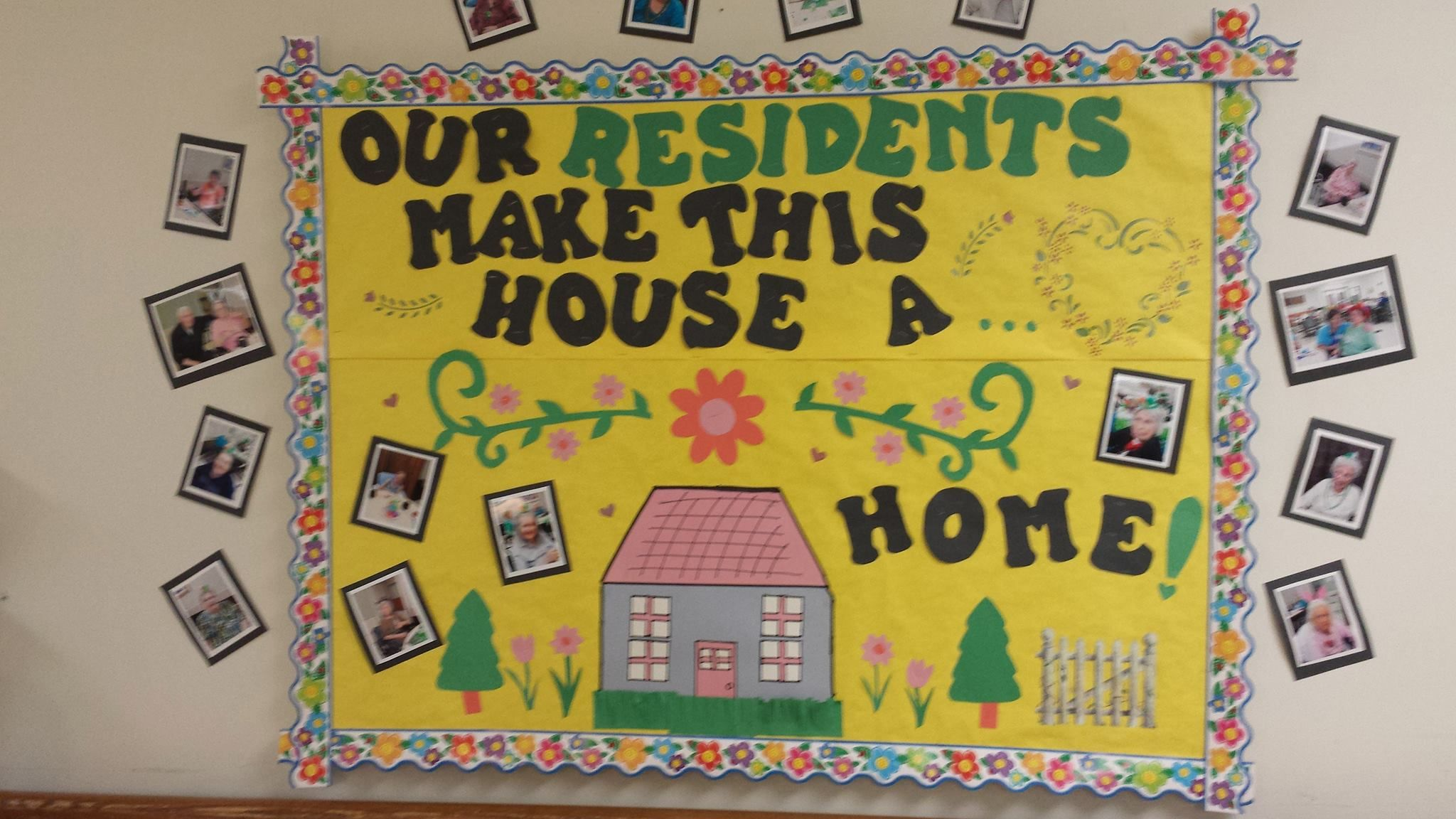 Nursing Home Month Work Bulletin Boards Holiday At The
