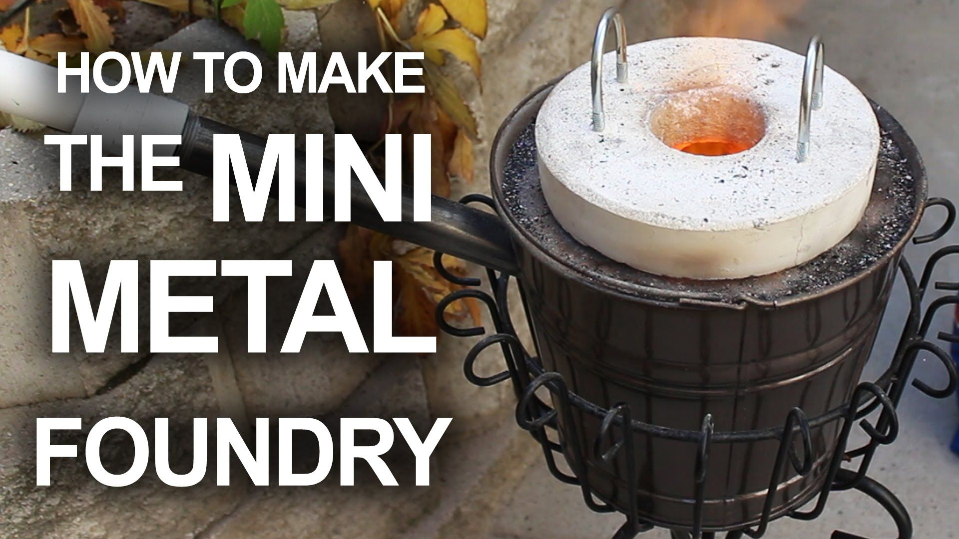 How to Make a Simple and Inexpensive Mini Metal Foundry for Melting Pop Cans and Casting Aluminum