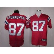 Patriots  87 Rob Gronkowski Red Alternate Stitched NFL Jersey  fba8a0d01