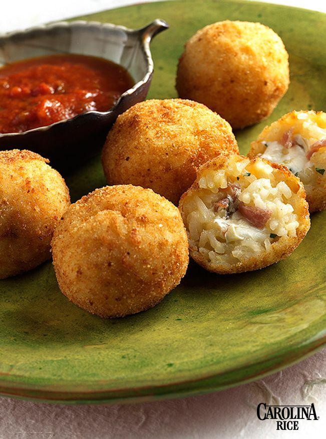 Suppli al Telefono: Deep Fried Rice and Mozzarella Balls