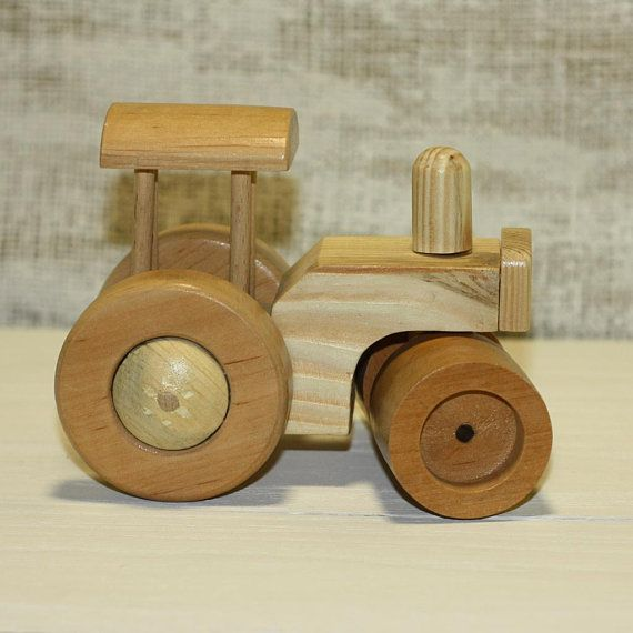 Wooden Toy Road Roller Toy Asphalt Milling Machine Toy For Boy