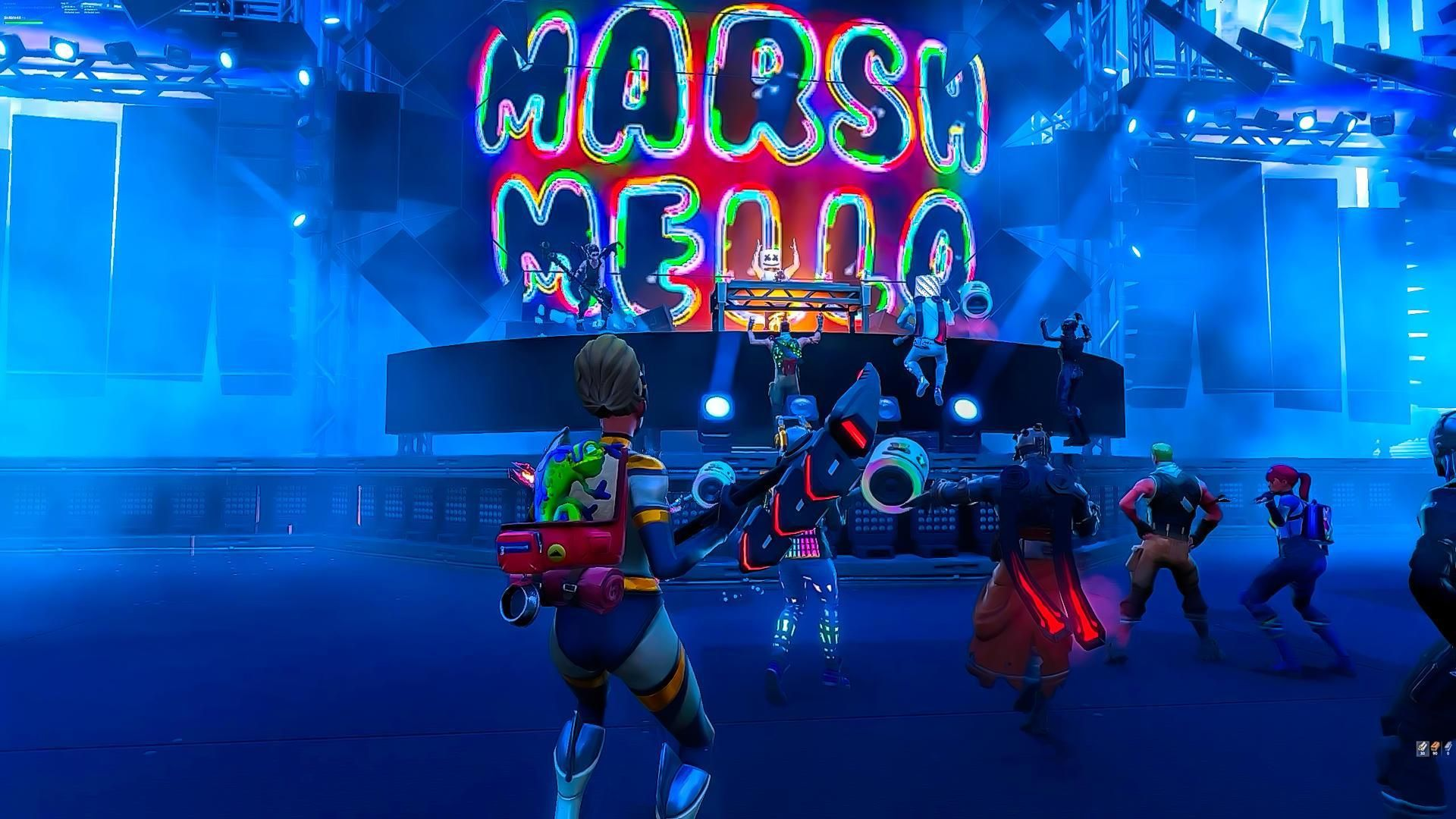 Fortnite Party At Pleasant Park With Marshmello As The Main Star