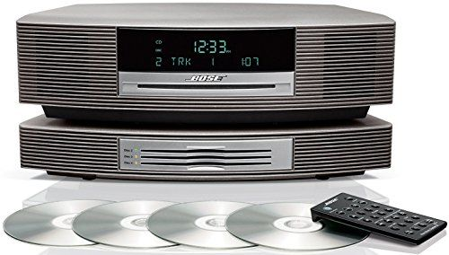 Bose Wave Music System III with Multi-CD Changer - Titanium Silver, Works with Alexa #musicsystem