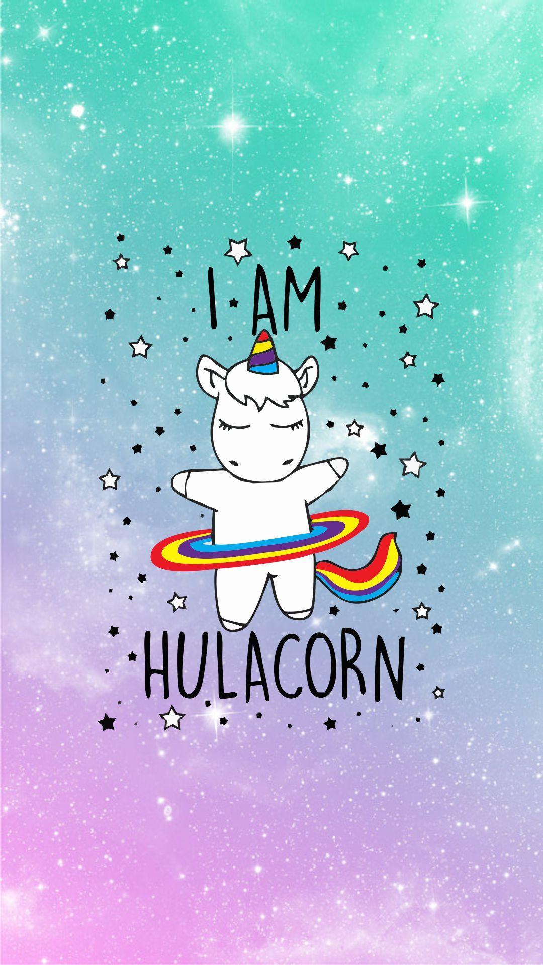 Hulacorn Wallpaper Iphone Wallpaper Pinterest Unicorn