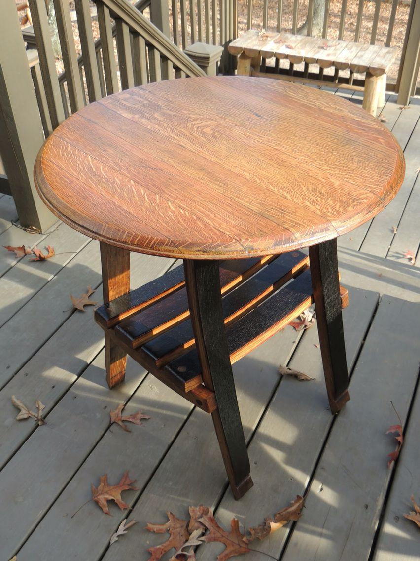 Barrel Table Weinfass Tisch Weinfass Holzfass Ideen