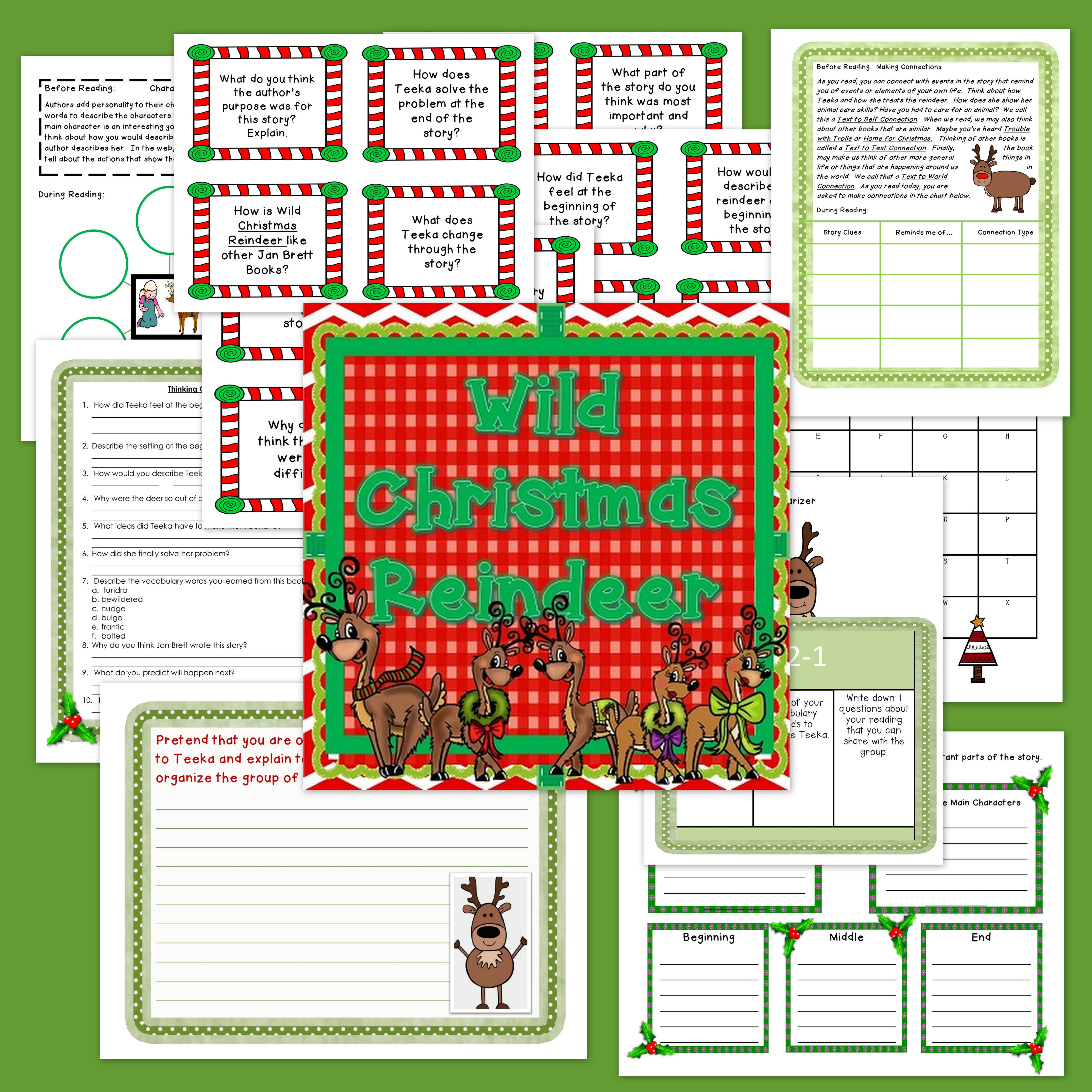 The Wild Christmas Reindeer Book Companion In Digital And Formats