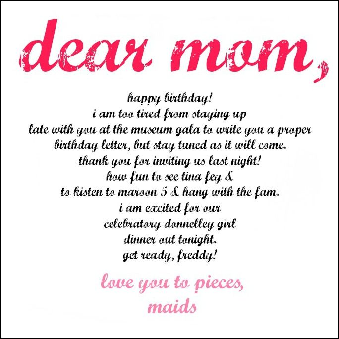 Funny Birthday Quotes For Mom From Son