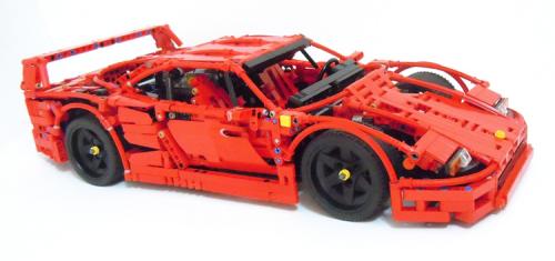 lego technic ferrari f40 supercar lego lego lego. Black Bedroom Furniture Sets. Home Design Ideas
