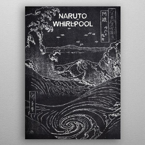 NARUTO by FARKI15 DESIGN | metal posters - Displate | Displate thumbnail