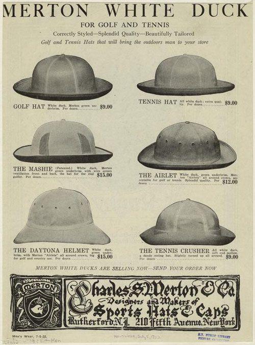 Sombreros para el Tenis  269cb169af7