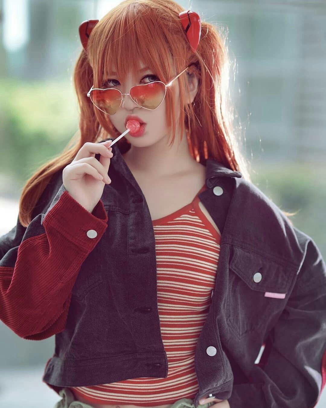 Anime Evangelion Asuka Langley Soryu Japan Anime Jacket Coat cos