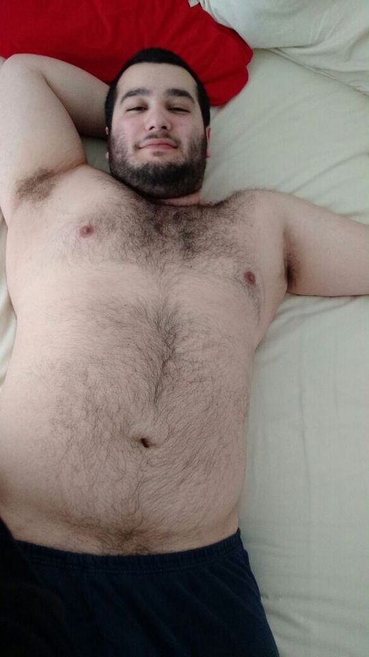 Free facials hairy chubby bear