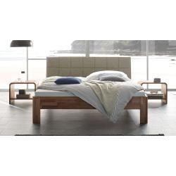 Photo of Hasena solid wood bed Pello, 180×190 cm, natural walnut HasenaHasena