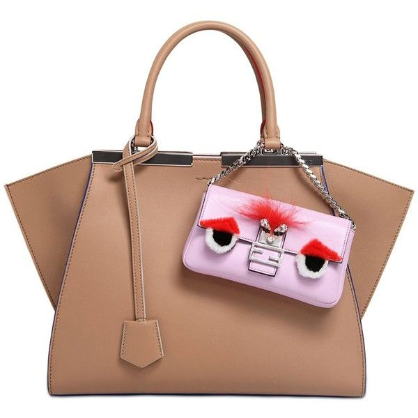 266c0e9118 FENDI Micro Baguette Monster Leather Bag ( 1