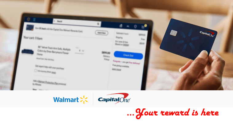 How to Apply for Capital One Walmart Credit Card Online in