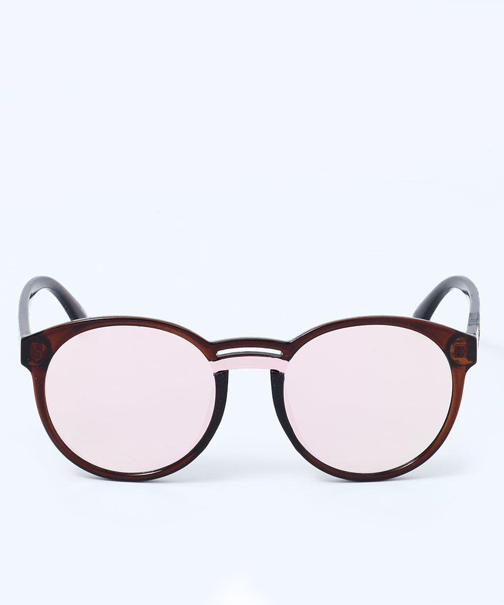 3a79319b73a6e Óculos Feminino de Sol Redondo Marisa