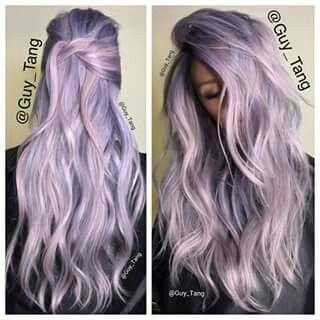 Lavender Toner Hair Styles Purple Hair Hair Color Pastel