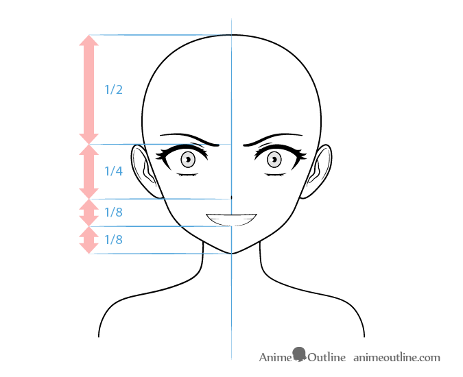 Anime Villain Female Character Crazy Face Drawing Anime Eye Drawing Anime Character Drawing Anime Head Shapes