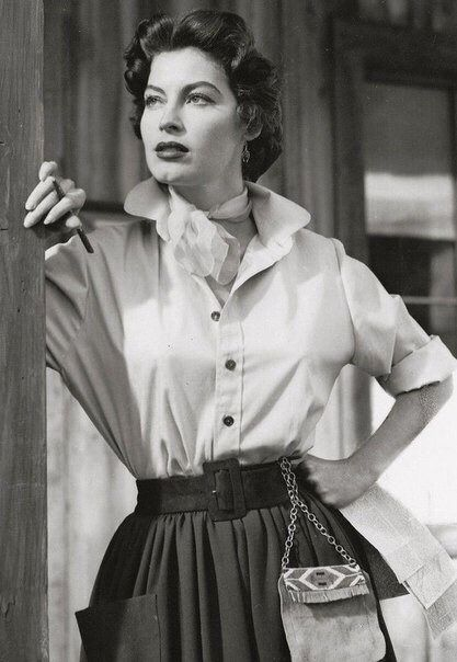 "magicofoldies: ""Ava Gardner, Lone Star, 1951 """