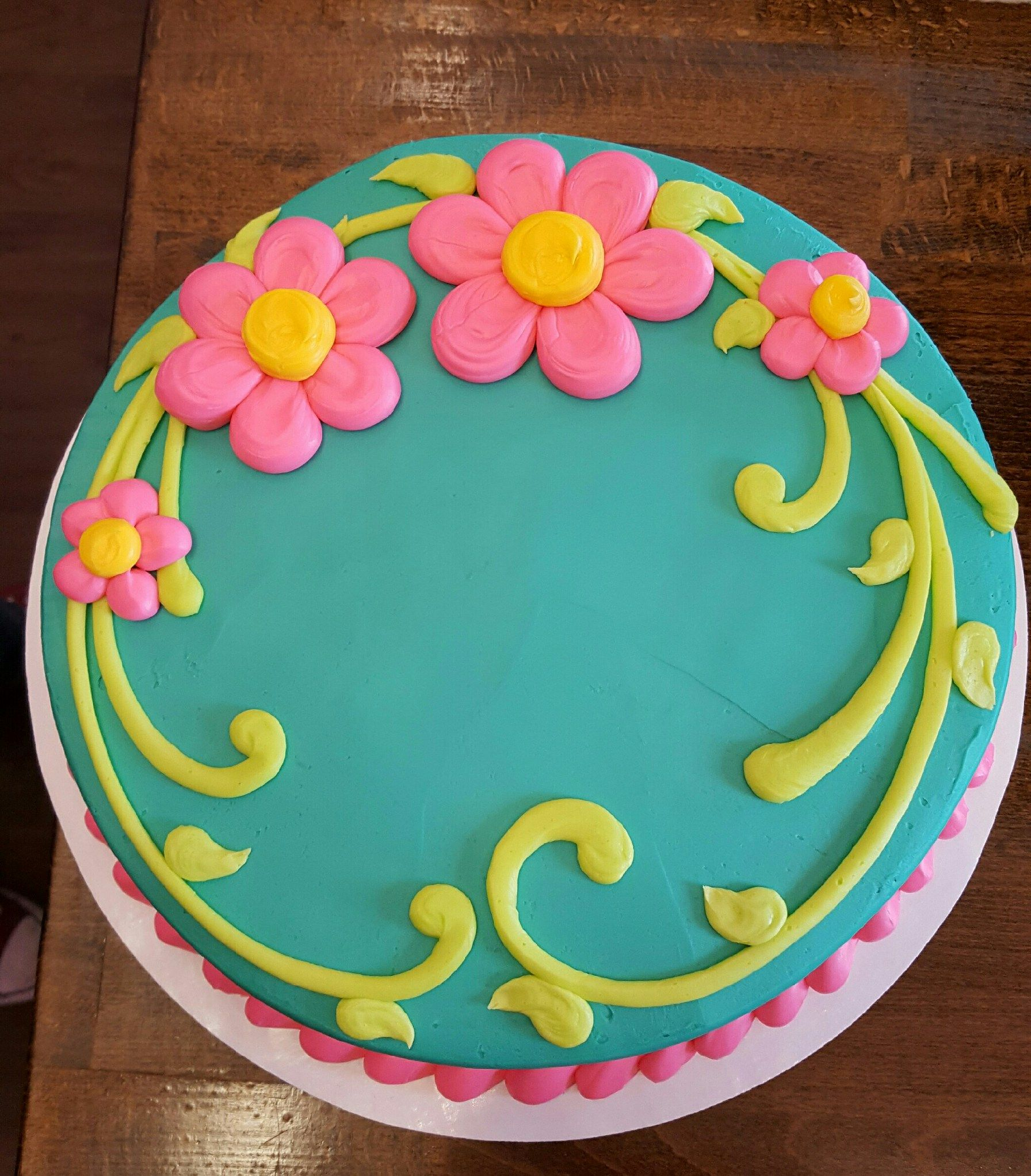 Butter Icing Cake Decorating Ideas : sencilla Pasteles Pinterest Cake, Decorating and Big ...