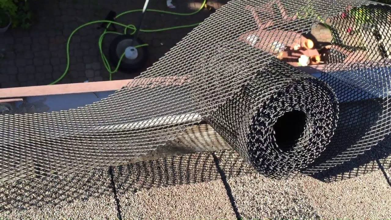 How To Install Rain Gutter Leaf Guard In 2020 Leaf Guard Gutter Leaf Guard Rain Gutters