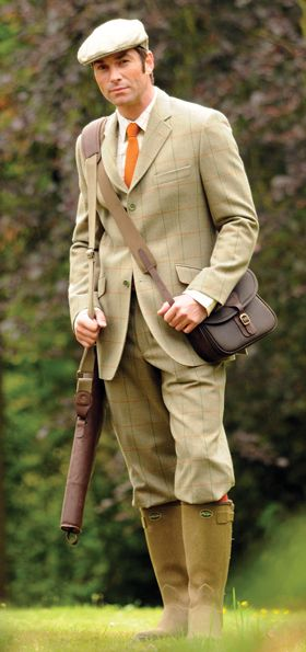 Lathkill Shooting Suit £545.00 | Hunting clothes, Bespoke ...
