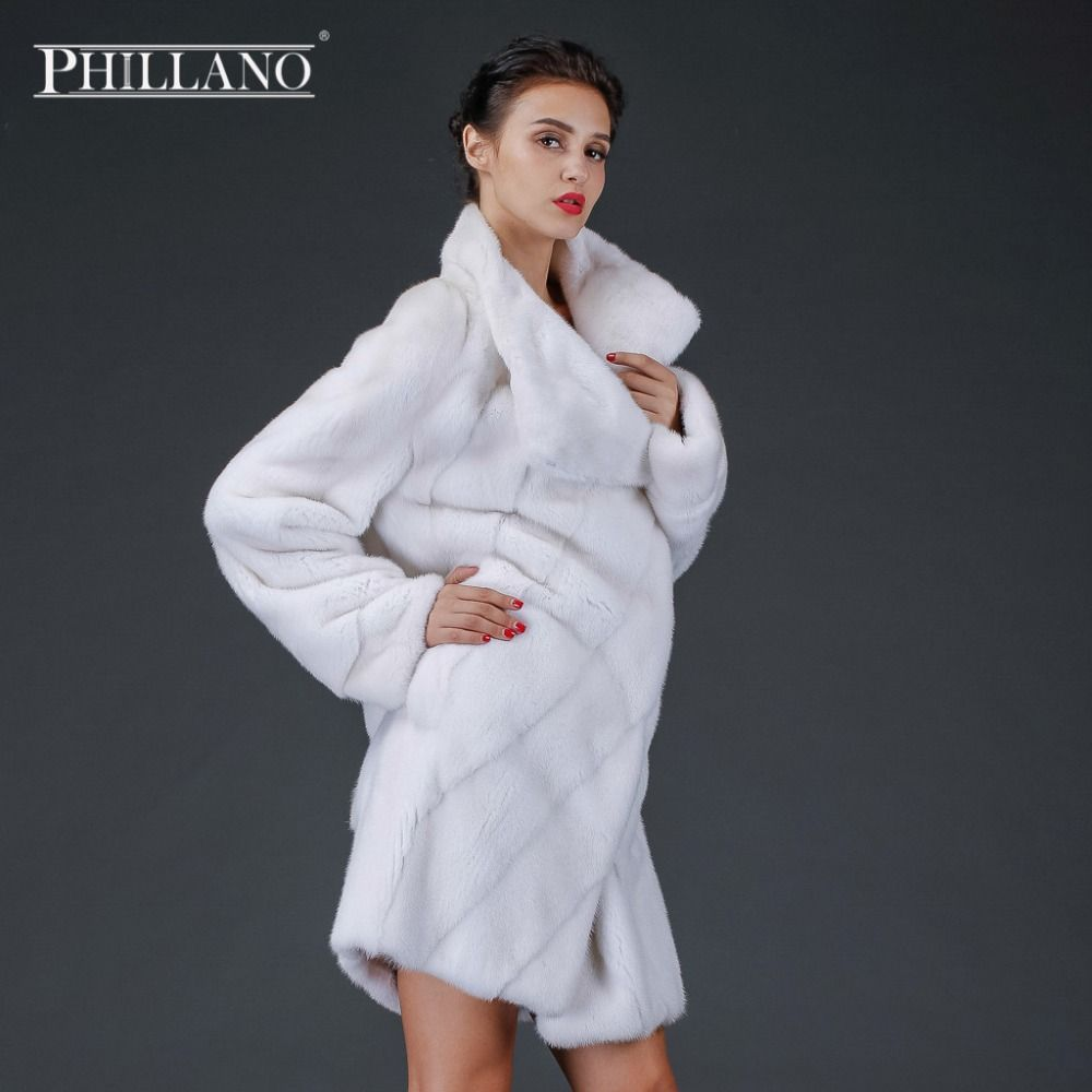 SALE PHILLANO 2016 Premium Women Mink Garment Natural Fur Coat ...
