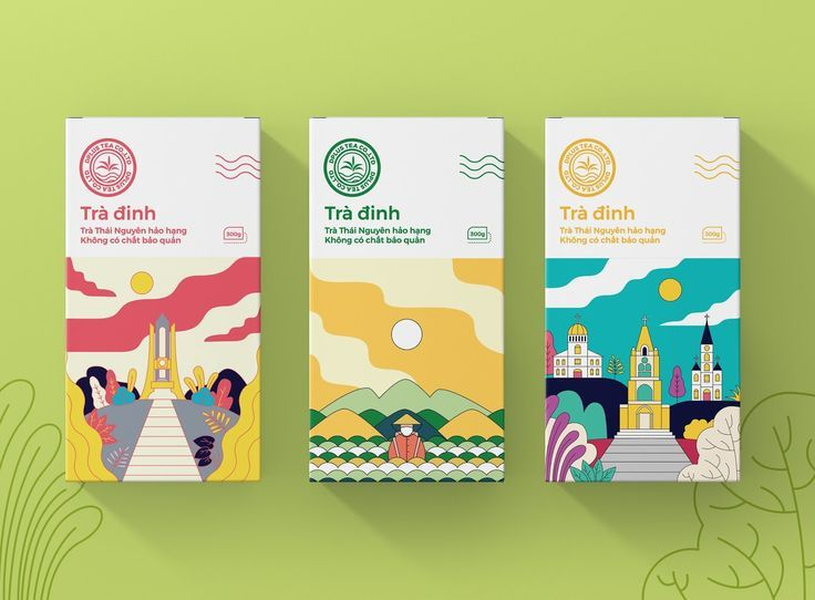 Tra Dinh Tea on Packaging of the World - Creative Package Design Gallery #packaging #package #packagingdesign #branding #teapackaging