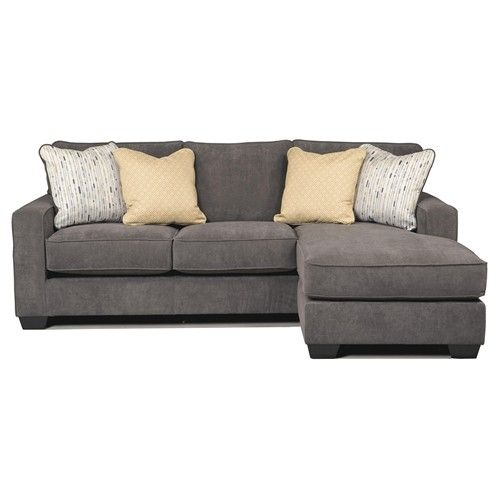 Ashley Furniture Williston Vt: Marble Contemporary Sofa Chaise With Track Arms