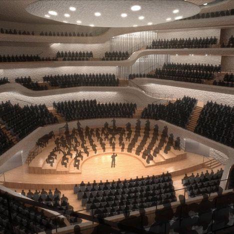 Interactive Model Offers A Look Inside Herzog De Meuron S Elbphilharmonie Architecture Commercial Architecture Architecture Collection